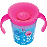 Munchkin Miracle 360 Degrees Deco Trainer Cup, 6 oz/177 ml, Blue Bird