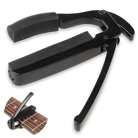 astoreplus cejilla de la guitarra Bass Ukelele cejilla guitarra eléctrica cejilla Capo cejilla guitarra capo cambio