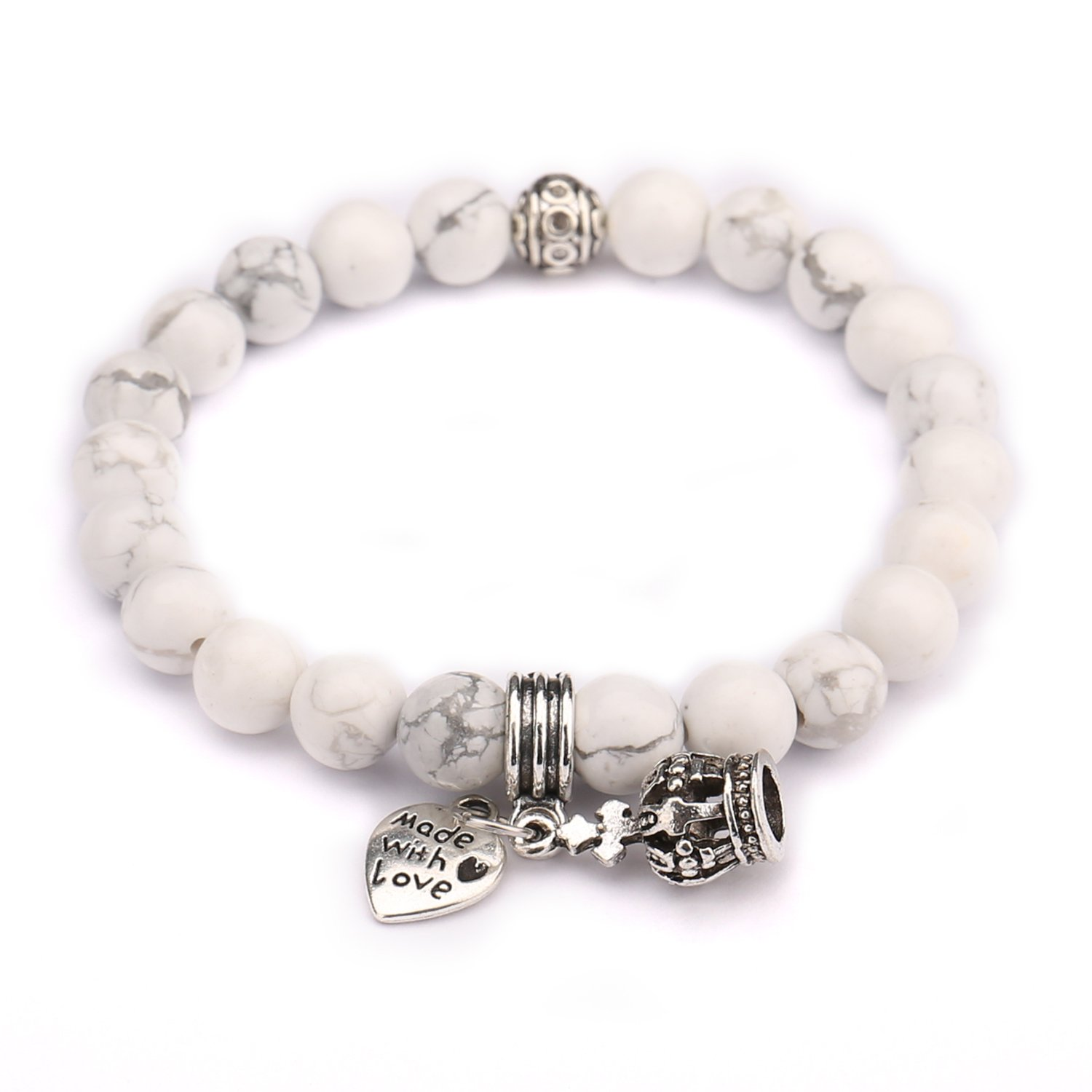 Beads Bracelet,UHIBROS Crown with \