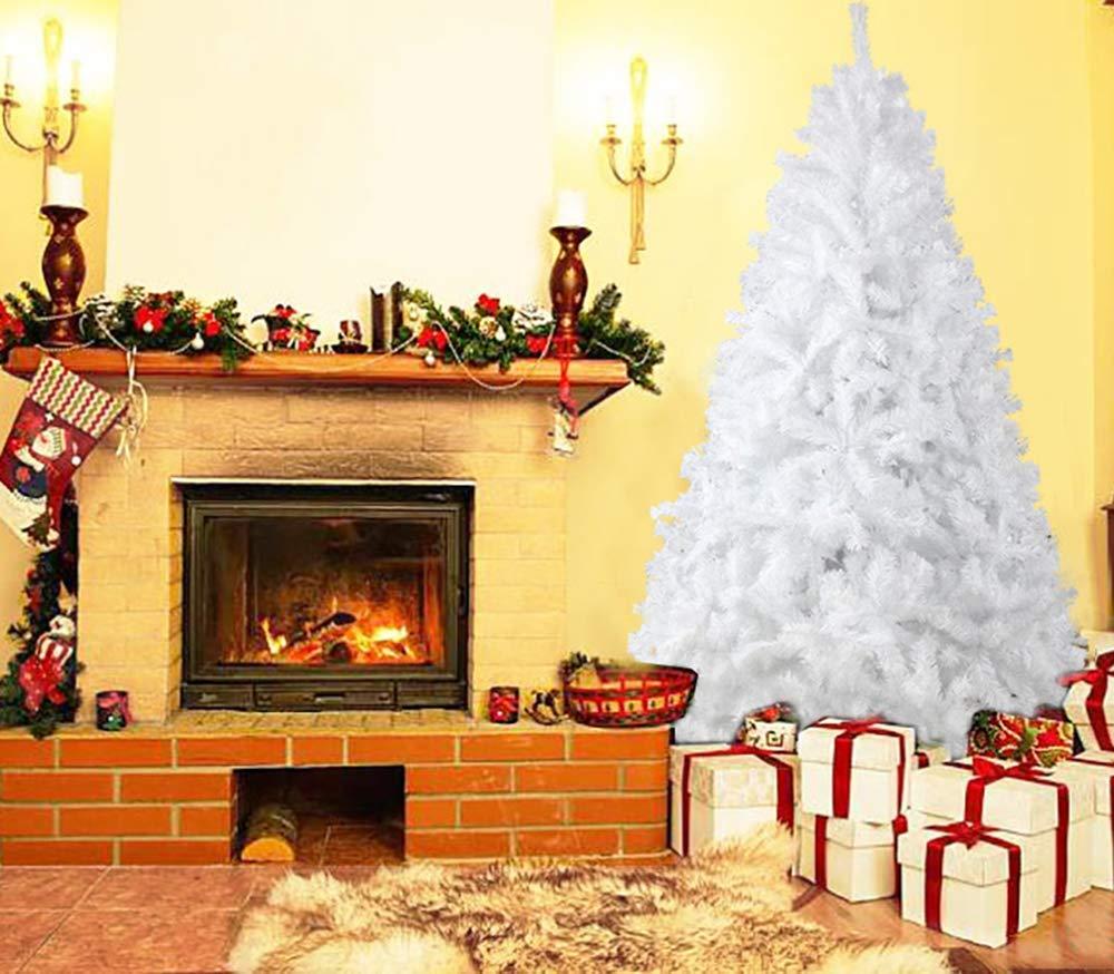 YOURFUN Weihnachtsbaum Hochwertiger künstlicher Baum 150cm 500 Spitzen mit Metallständer, Metallständer, Metallständer, Minutenschneller Aufbau mit Klappsystem, schwer entflammbar (grün mit Schnee&Tannenzapfen, 150cm 500 Spitzen) B07GSQ24Y3 Künstliche Weihnachtsbume a298df