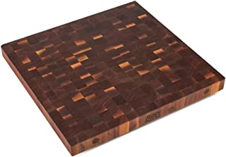 product image for John Boos WALBBIT4-3025 End Grain Butcher Block Island Top, 30 x 25 x 4, Walnut Wood