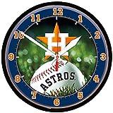 "MLB 2934814 Houston Astros Round Wall Clock, 12.75"""