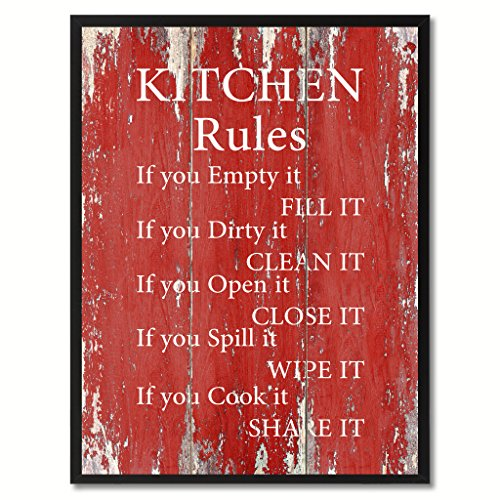 Daring bold and modern red wall art xpressionportal for Red kitchen wall art