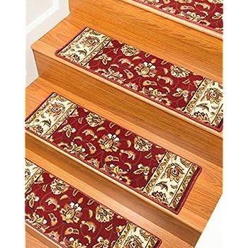 Stellar Carpet Stair Treads 9 Inch X 29 Inch Use Indoor, Set Of
