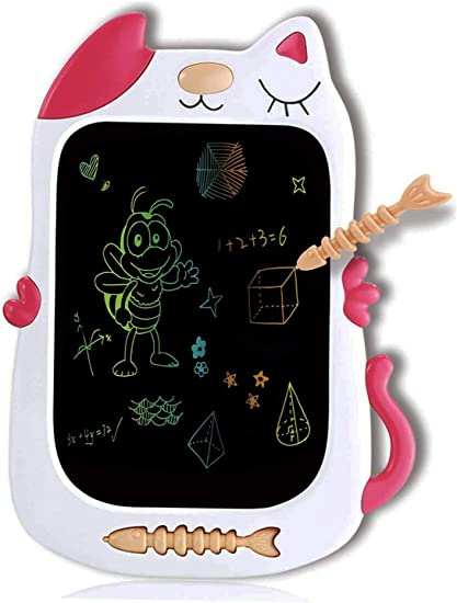 JIANGXIUQIN LCD Board 8.5 Inches LCD Writing Tablet Lightweight Electronic Writing Drawing Doodle Board Gift for Kids Christmas Thanksgiving Gift Color : Pink, Size : 8.5 inches