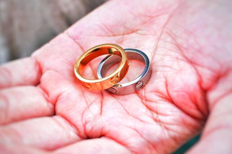Amazon.com: Teresa Luxury Shine Celebrity Love Gold-Plated Band Ring ...