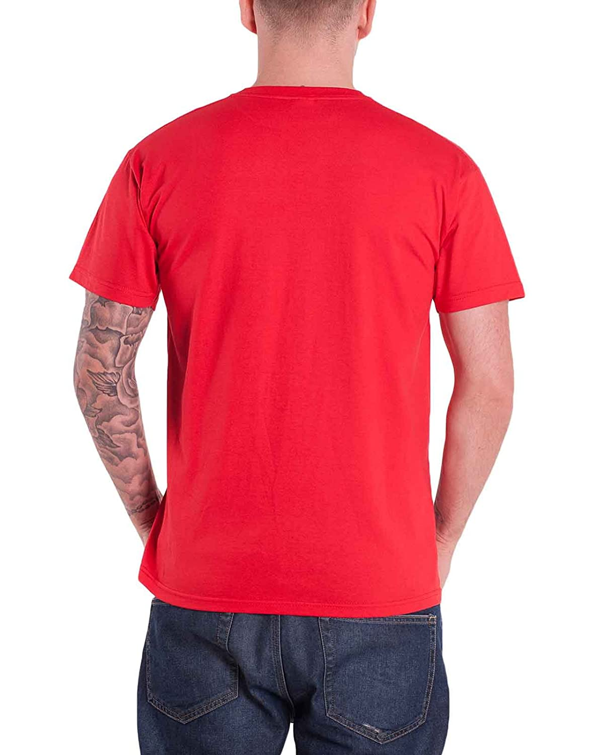 422fa8d73 Amazon.com: Sonic youth T Shirt Sonic Nurse Band Logo Official Mens Red:  Clothing