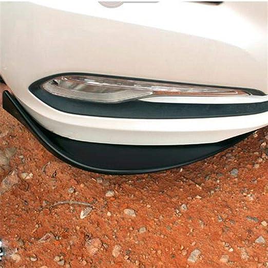 2pcs Winglet Type 3 style Car Front Deflector Spoiler Splitter Diffuser Bumper