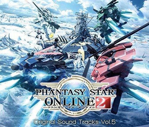 Phantasy Star Online 2 (Vol 5) (Original Soundtrack) (Import Stores Online)