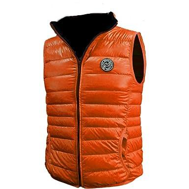 354a0d9c291 WAXX Accessories Orange Men's Down Gilet X-Large: Amazon.co.uk: Clothing