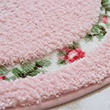 Sytian® Decorative Super Soft Floral Design Rural