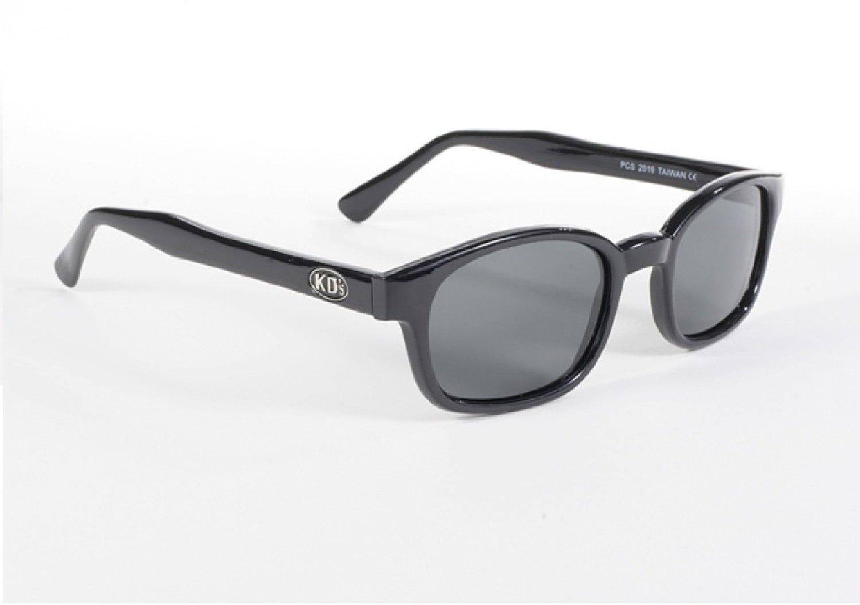 X-KD Occhiali da sole da motociclista, modello uguale a quelli indossato da Jax Teller nella serie TV Sons of Anarchy, grigio polarizzato (originali) Pacific Coast Sunglasses INC