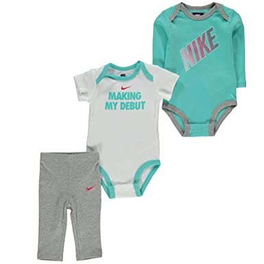 c782268b417a Image Unavailable. Image not available for. Color  Nike Jordan Baby Boys  3  Piece 2 Bodysuits and 1 Pants (6-9