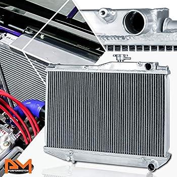 MONROE RACING U0403 Aluminum Radiator+9 fans for TOYOTA COROLLA ...