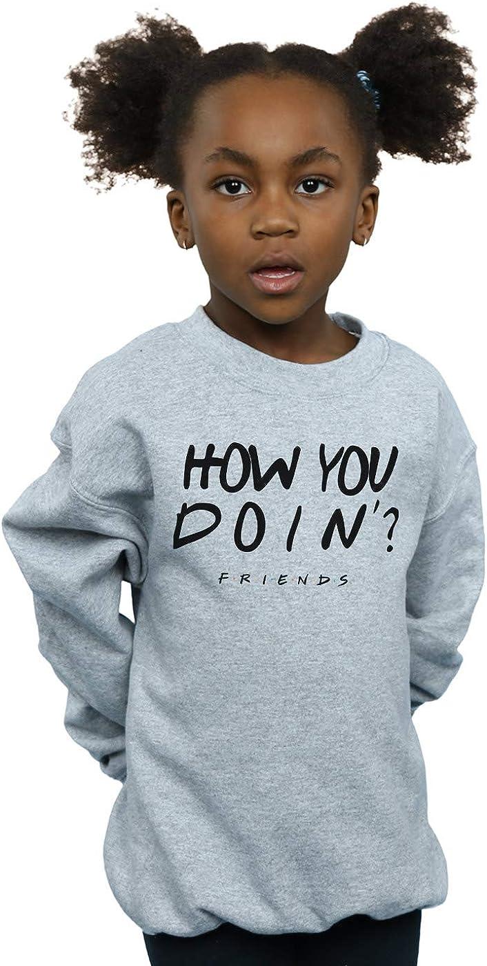 Sweatshirt Absolute Cult Friends Girls How You Doin