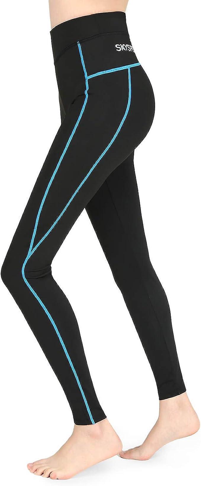Amazon.com: SKYSPER Yoga Pants Women High Waisted Gym Tights ...