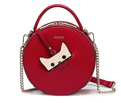 Amazon.com: Nucelle bolsas para mujer cadena crossbody ...