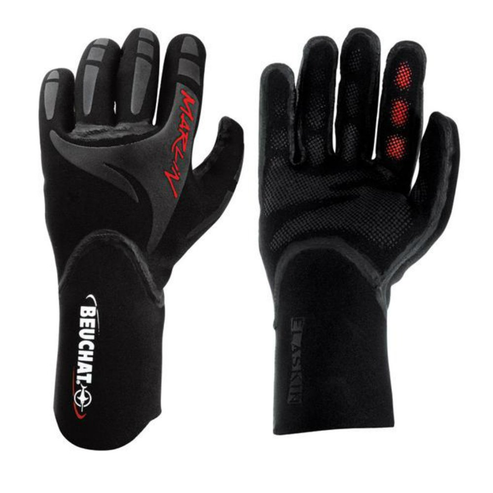 Amazon.com: Beuchat Marlin - Guantes (0.079 in): Sports ...