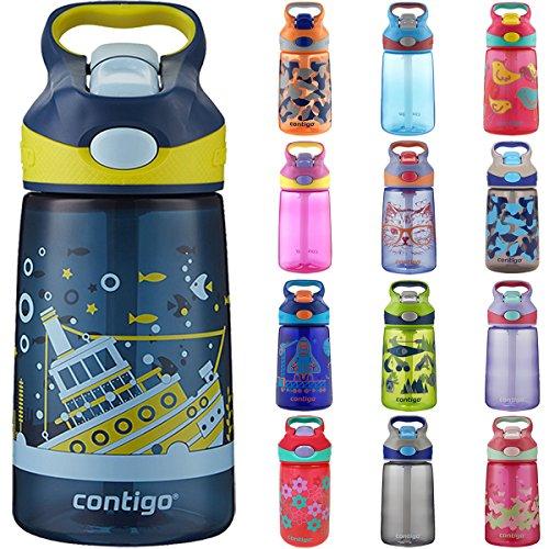 Contigo AUTOSPOUT Straw Striker Kids Water Bottle