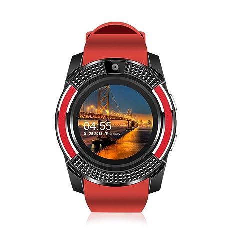 Amazon.com: KOBWA Smart Watch,Touch Screen Wrist Watch with ...