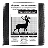 Deer & Animal Fence, Protective Fencing for Gardens & Landscapes, 7 by 100 foot Netting