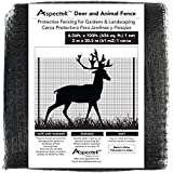 Extra-Strength Deer & Animal Fence Netting 7 x 100 Feet, Protective Fencing for Gardens & Landscapes