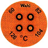 Wahl Instruments 443-061C Round Mini Four Position IC Batch/Vacuum Chamber Temp-Plate, 60, 82, 104 and 126 degrees C (Pack of 10)