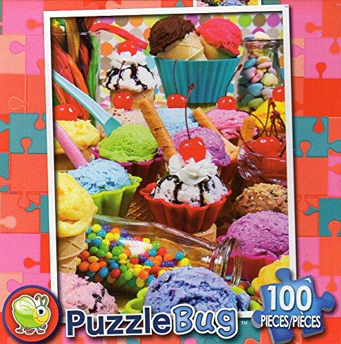 Ice Cream Parlor – – Puzzlebug B079RMB9VZ – 100 100 Piece Jigsaw Puzzle – v2 B079RMB9VZ, ナカサトマチ:77963d61 --- ero-shop-kupidon.ru