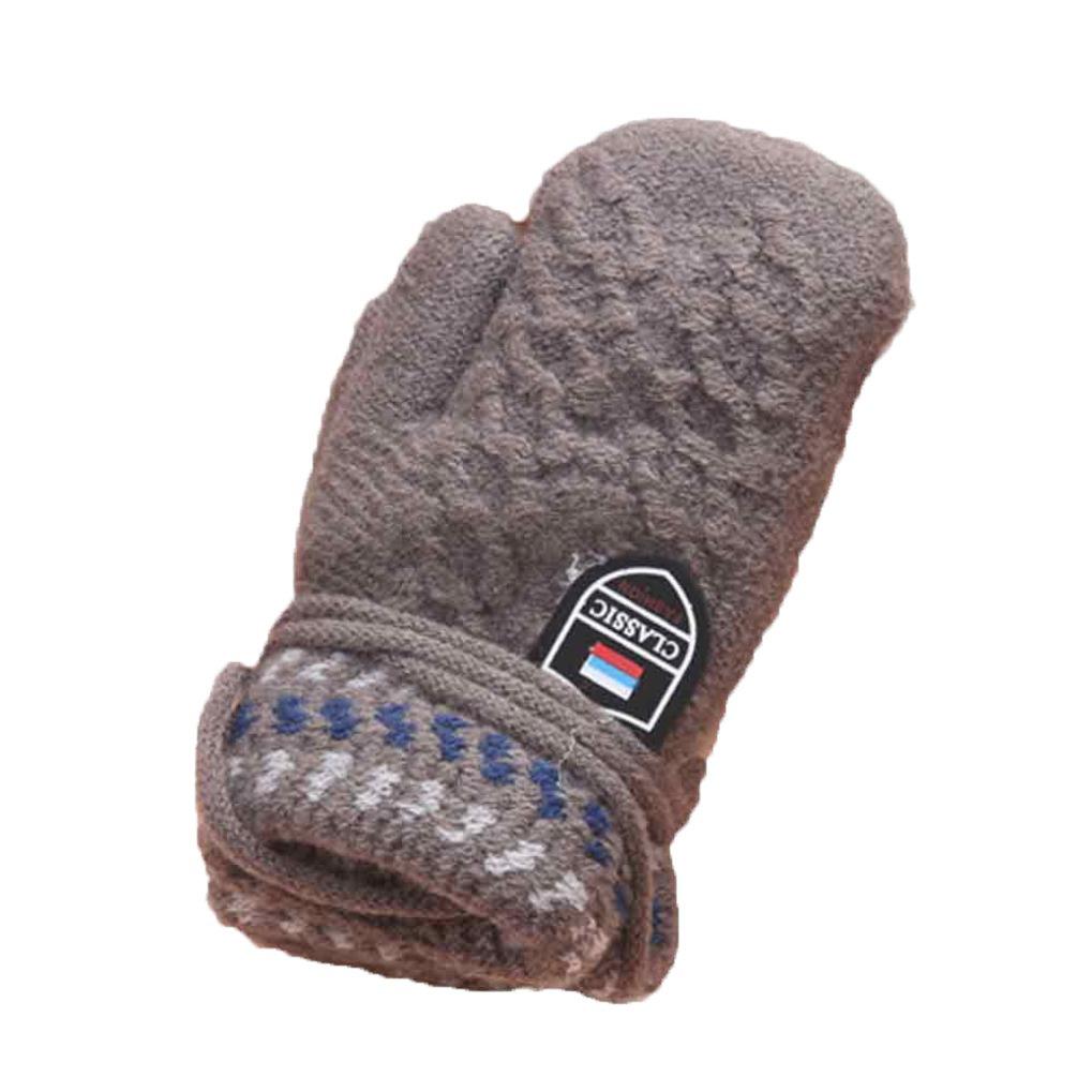 Muium Cute Infant Christmas Gloves Baby Girls Boys Twist Full Finger Thicken Hot Of Winter Warm Gloves ST-005