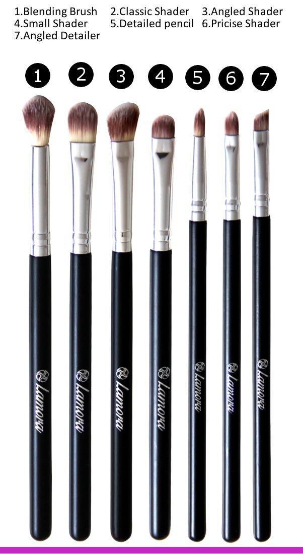 Amazon.com: Makeup Eye Brush Set - Eyeshadow Eyeliner Blending ...