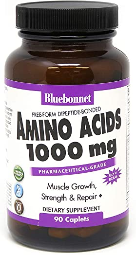 Bluebonnet Amino Acids 1000 mg Capsule