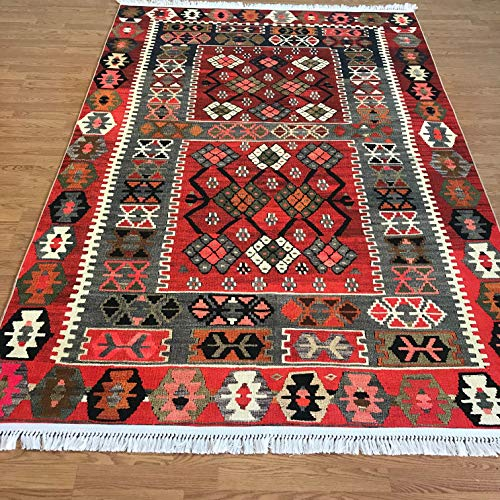 Bohemian Style Turkish Kilim Design Printed Area Rug for sale  Delivered anywhere in USA