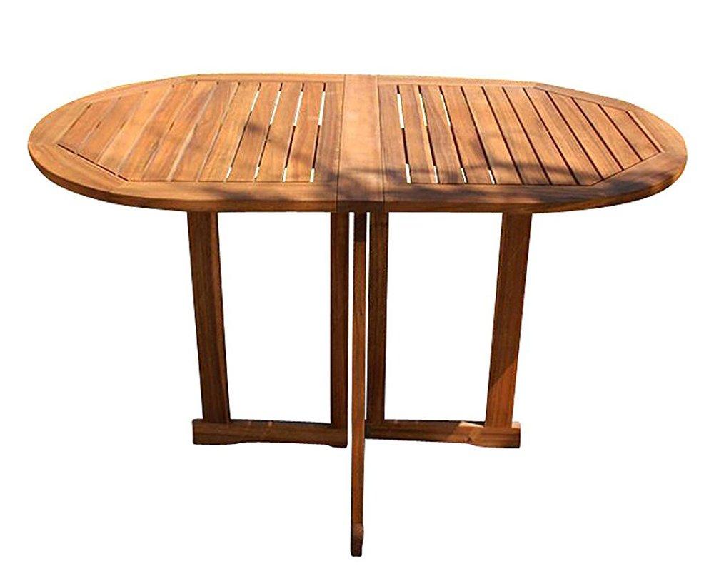 SAM Gartentisch Pablo Balkontisch klappbar, Tisch 120x70 cm, Akazie-Holz massiv & geölt, FSC 100% Zertifiziert