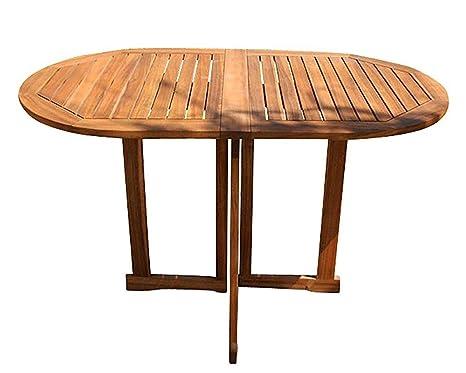 Sam tavolo da giardino pablo 120 x 70 cm tavolo pieghevole per