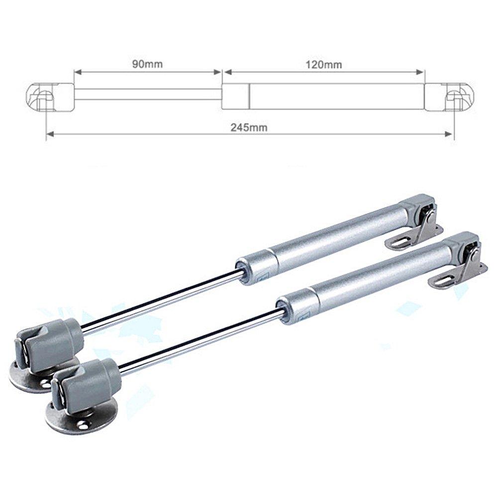 4 kg Zchui 50 60 80100120 150Nm Tapa del puntal de Gas Soporte del gabinete Bisagra de Puerta Suave Abrir//Cerrar