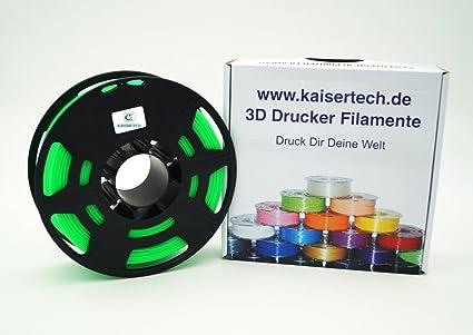 Kaiser Tech filamento para impresora 3d 1 kg ABS 1,75 mm ...