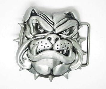 Chien Bulldog Anglais en métal Boucle de Ceinture  Amazon.fr  Auto ... 7522173406a