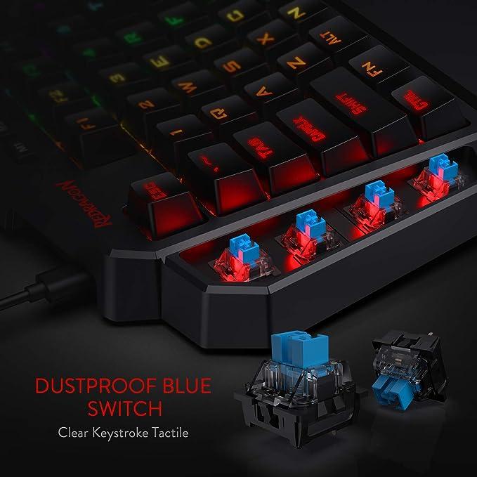 Amazon.com: Redragon RGB Mechanical Gaming Keyboard ...