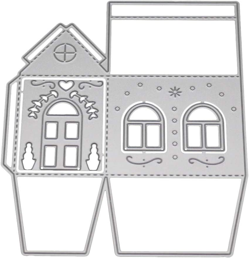Xmiral Fustelle per Scrapbooking per Carta Cutting Dies Metallo Fustella Stencil #190313R B Accessori per Big Shot e Altre Macchina