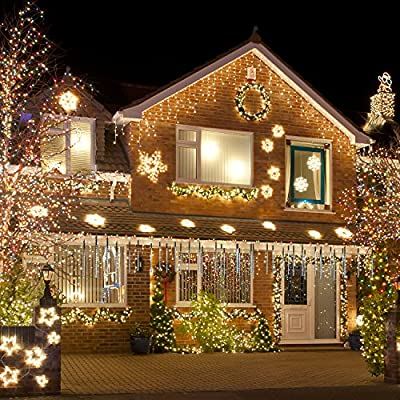 Meteor Shower Rain Lights Christmas LED Decoration Falling Drop String Light icicle 8 Tube 30cm
