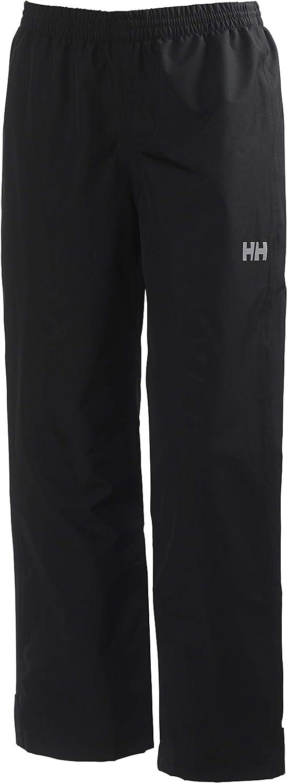 Helly-Hansen Juniors Dubliner Waterproof Breathable Rain Pant, Black, Size 8