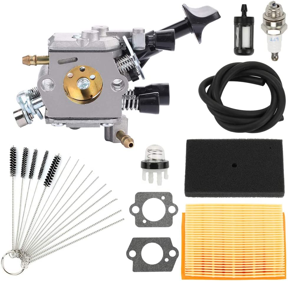 Highmoor C1Q-S210 C1Q-S210B Carburetor for STIHL BR350 BR350Z BR430 BR430Z SR430 SR450 SR431 Backpack Leaf Blower Carb Replace 4229 129 0901 with Air Filter Tune Up Kit