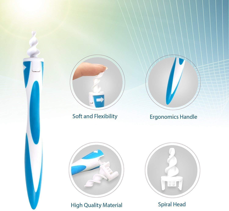 sicheren und weichen Spitzen f/ür Erwachsene und Kinder Ohrenschmalz-Entfernungs-Tool Smart Ear Cleaner-Kit mit 16 flexiblen