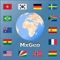 Atlas mundial e mapa do mundo MxGeo Pro