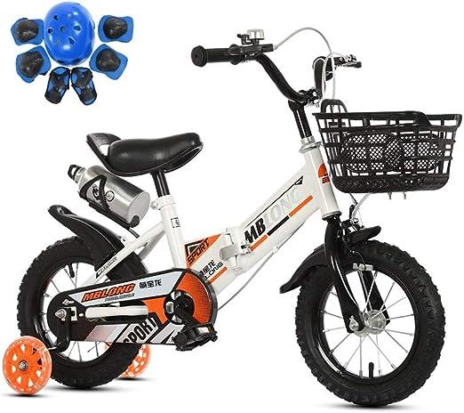 SONG Bicicleta para niños Asiento De La Bicicleta Plegable ...