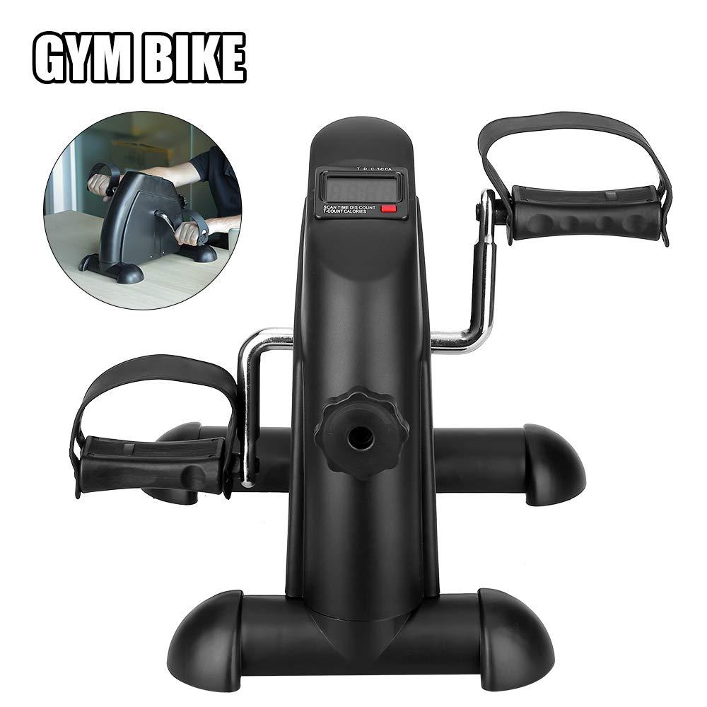 und Beintrainer Fahrradtrainer AGM Heimtrainer Mini Bike LCD Pedaltrainer Arm