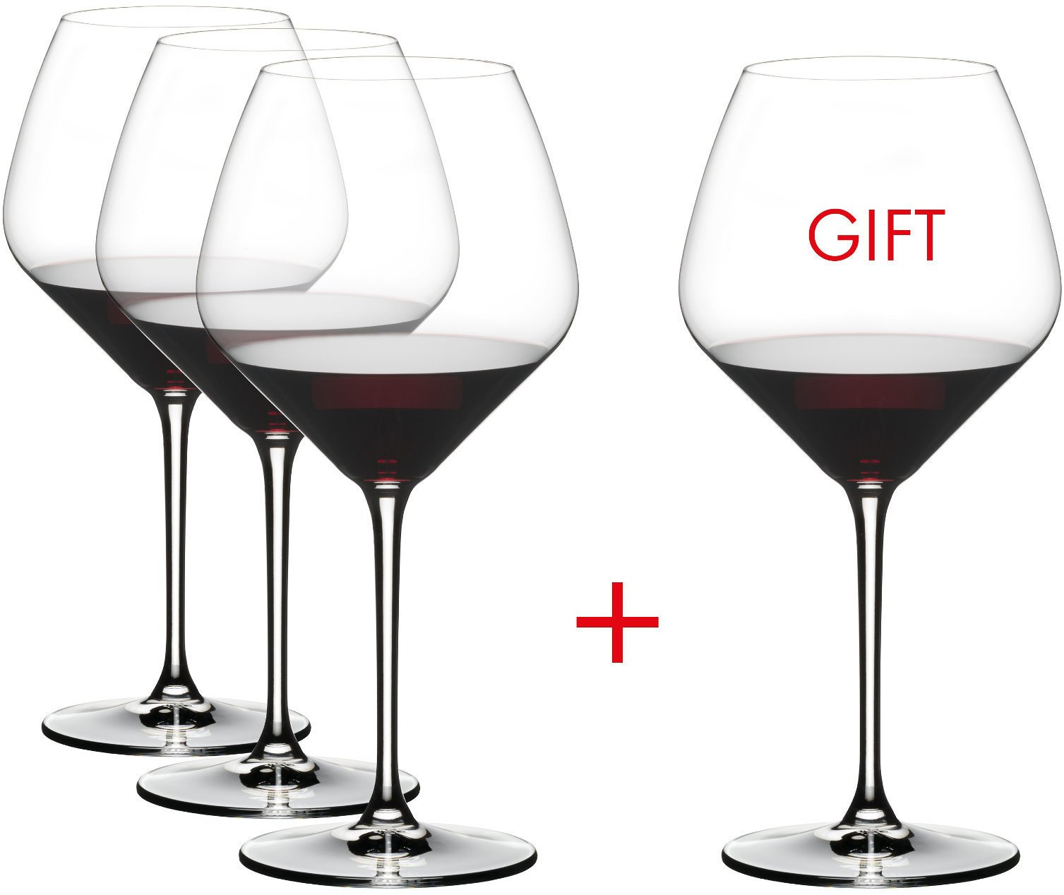 Riedel Extreme Crystal Pinot Noir Wine Glass, Buy 3 Get 4 Glasses by Riedel (Image #3)