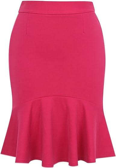 Faldas para Mujer Falda Casual Verano Moda De para Mujer Moda ...