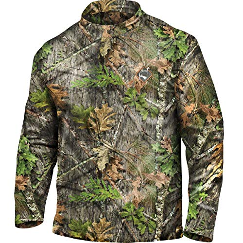 Ol' Tom Performance Long Sleeve Mock Turtleneck (NWTF Mossy Oak Obsession) (Men's XL)