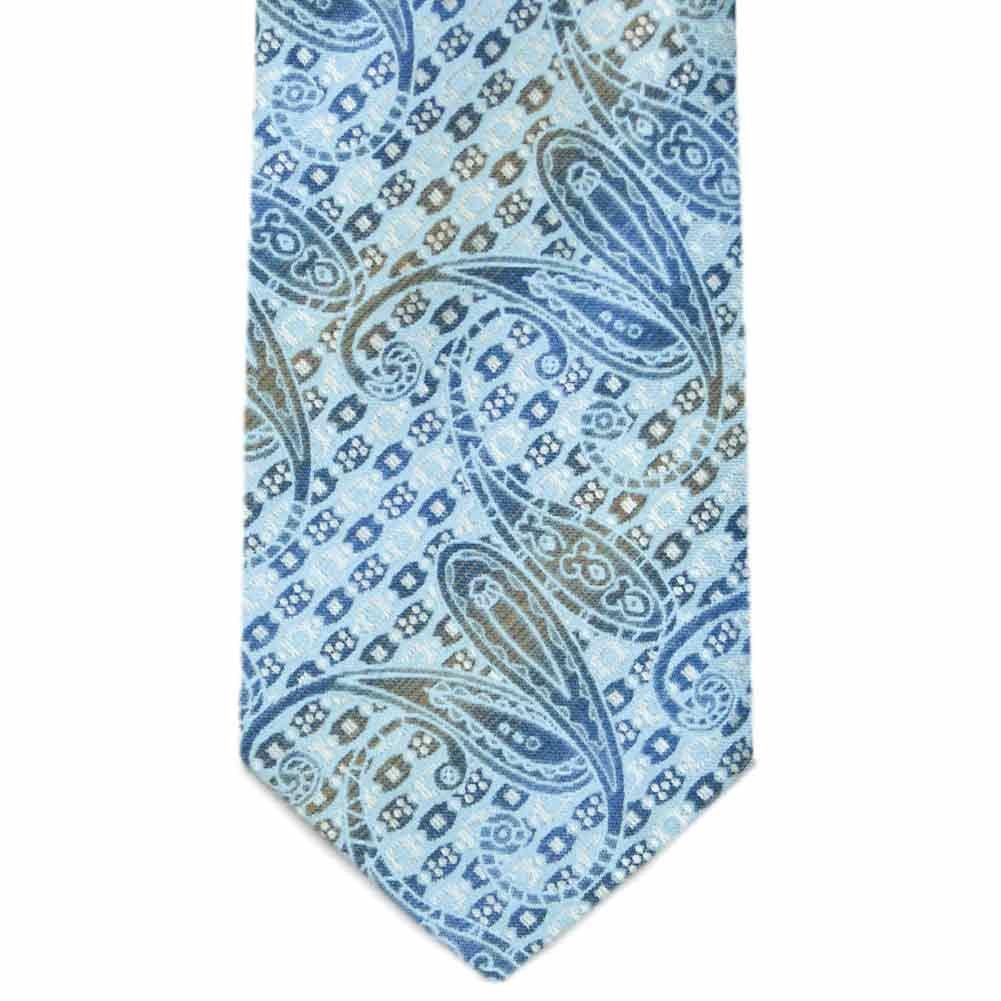TieMart Special Purchase Tie and Pocket Round Set in Bonnie